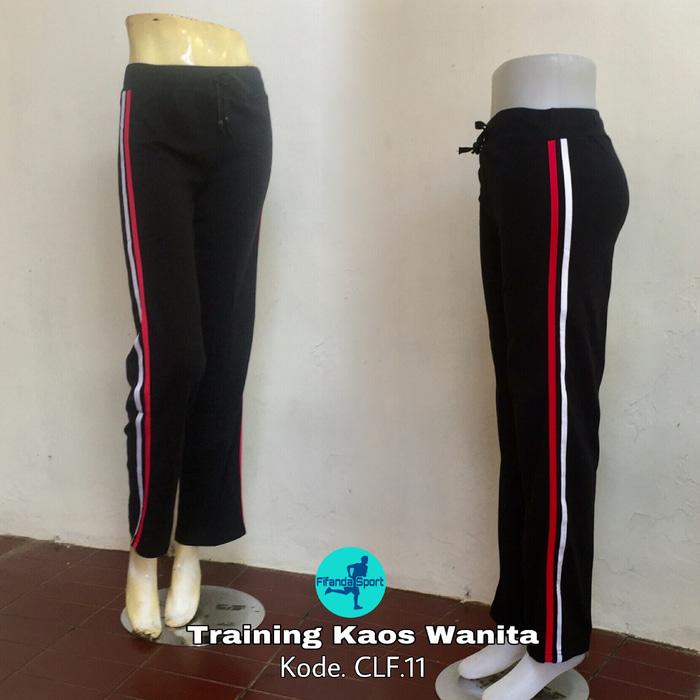 jual Celana training kaos wanita