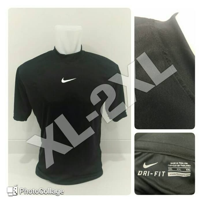 jual Baselayer / Manset Nike Short Sleeve Black XL-2XL
