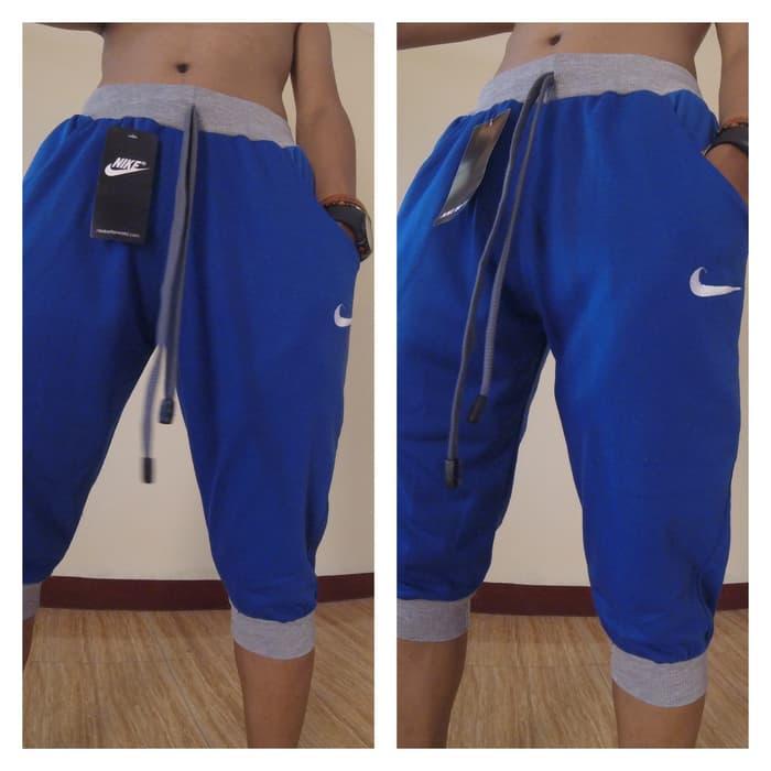 jual Celana Jogger Nike Fc 3/4 Biru