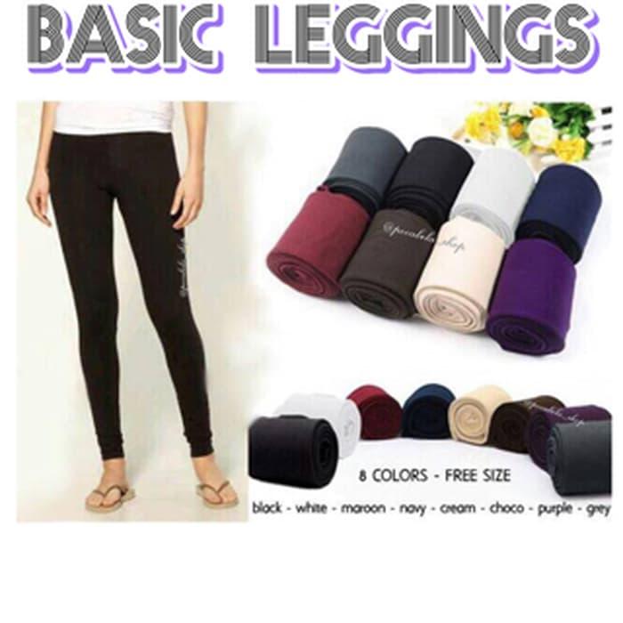 jual Basic Leggings Import