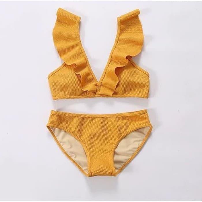 jual TULIP Bikini Baju Renang   Bikini Polos Baju Renang Two Piece Bra