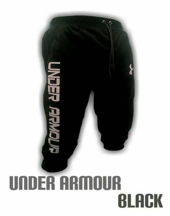 jual Celana Jogger pants underarmour training gym fitness cowok armour