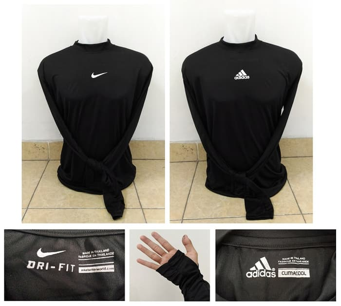 jual Size Manset / Baselayer Nike & Adidas 2XL fit to 3XL
