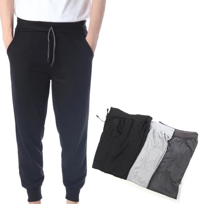 jual jogger pants Celana Panjang Jogger Training Pria wanita dewasa Polos