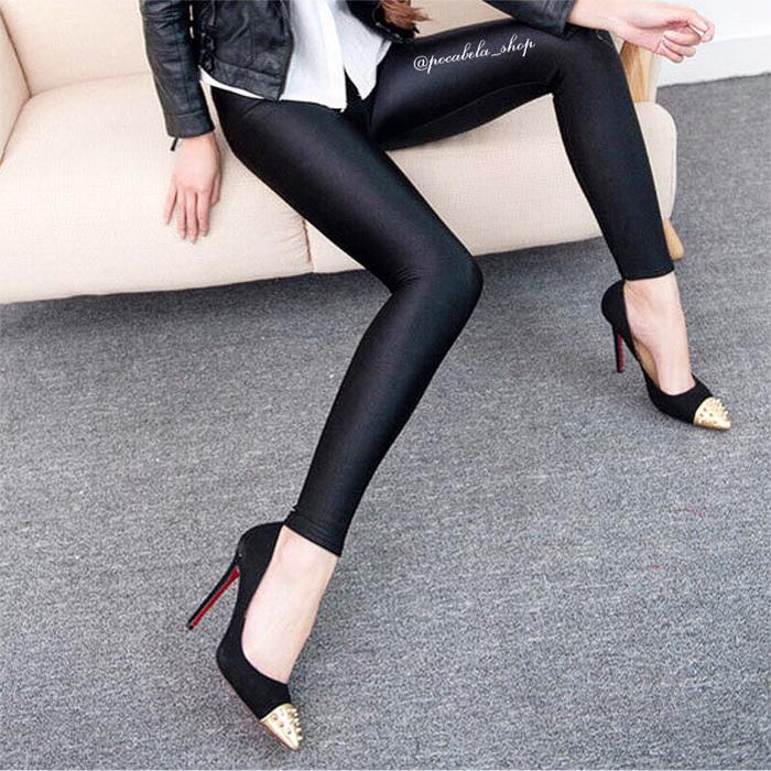 jual Lycra Silky Leggings