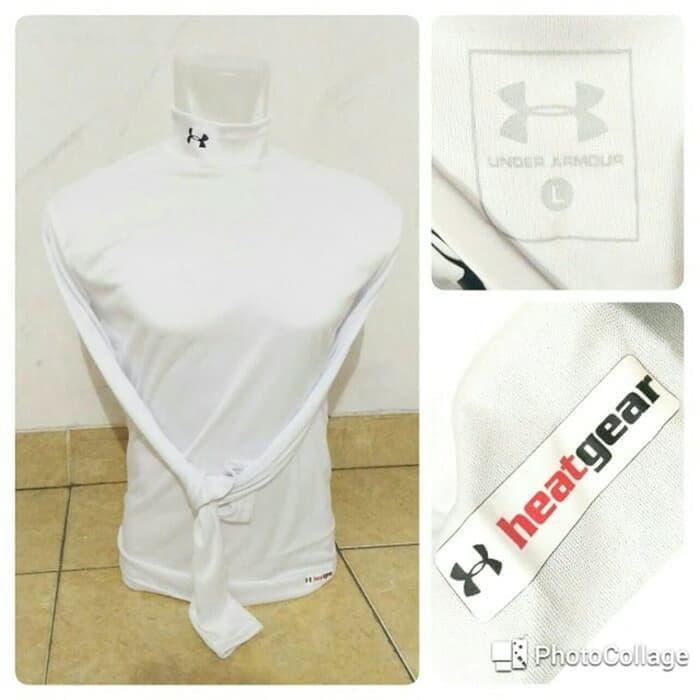 jual Baselayer / Manset Under_Armour Heatgear White
