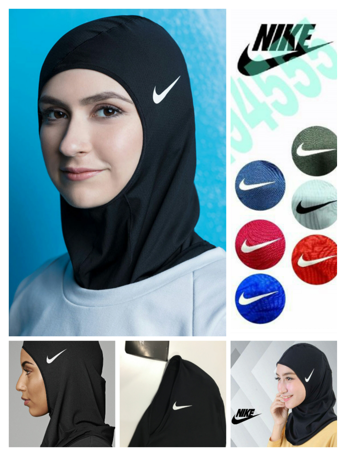 jual Hijab Kerudung Nike Sporty