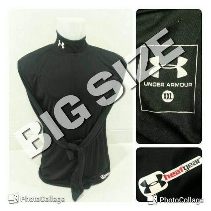 jual XL-3XL !! Baselayer / Manset Heatgear UnderArmour Black