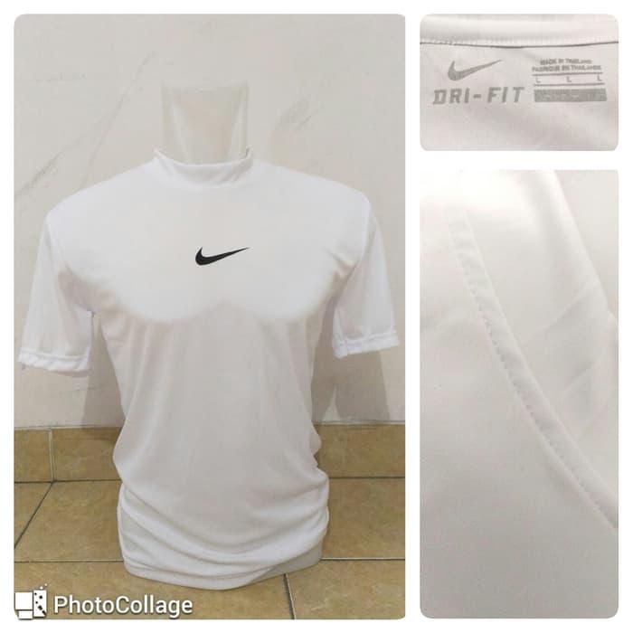 jual Baselayer / Manset Short Sleeve Nike White