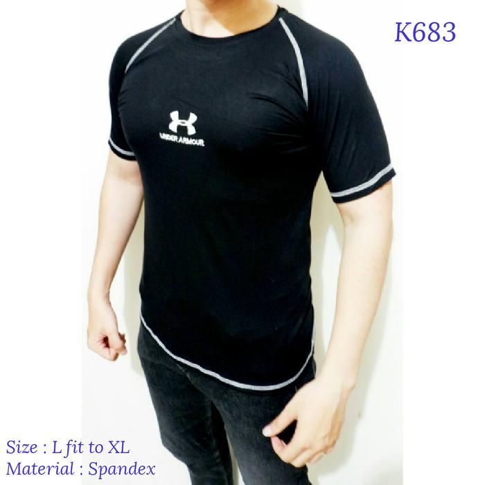 jual baju kaos gym fitness training Under armor underarmor
