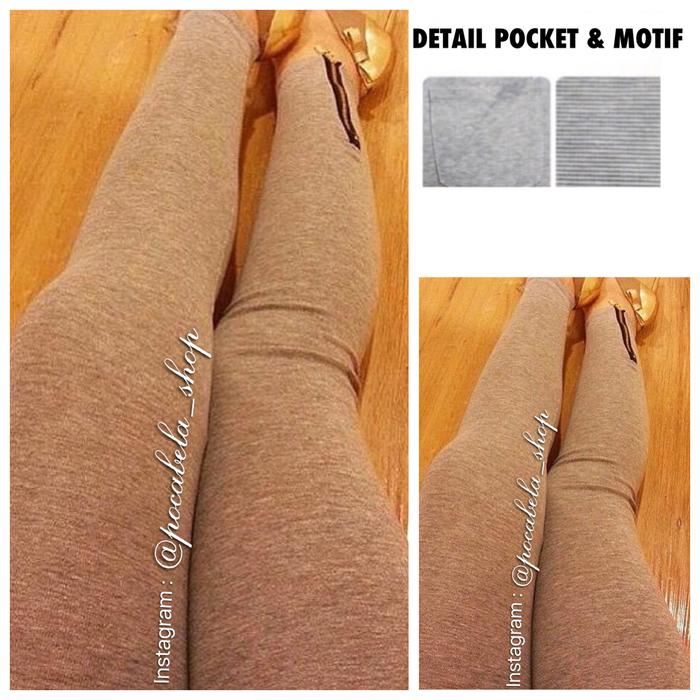 jual Nicole Zipper Cotton Leggings