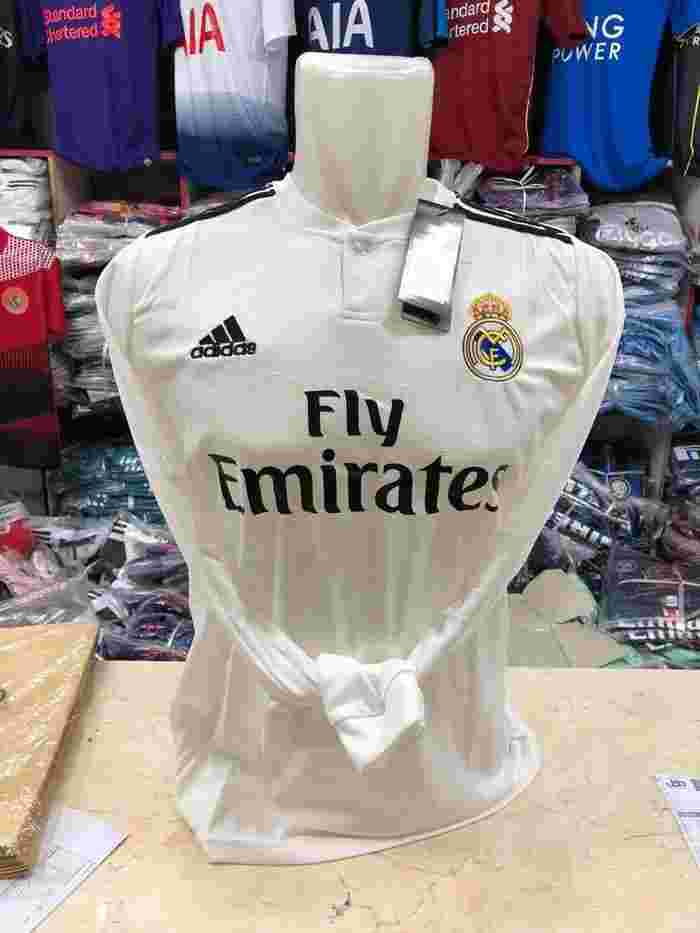 Jersey Grade Ori LS Madrid Home Panjang BARU new 2018/2019 Official