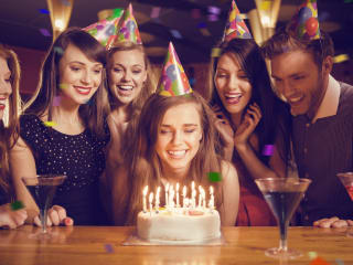 Rent a limo for a birthday party