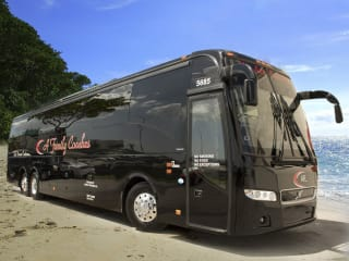 Charter a bus for your long distance travel with large groups