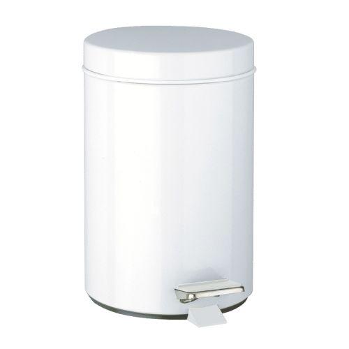 Poubelle ronde à pédale photo du produit Secondaire 1 L
