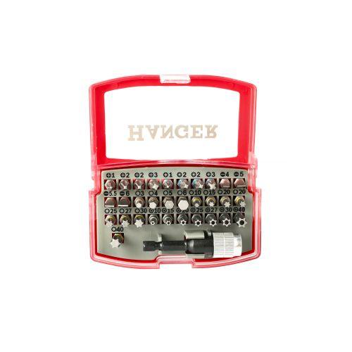 Coffret d'embouts couleurs de 32 pièces - HANGER - 250002 pas cher Secondaire 3 L