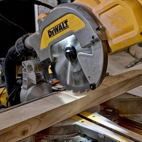 Scie à onglets radiale 1800W Ø216 mm en boite carton - DEWALT - DWS777 pas cher Secondaire 4 L