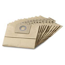 Paquet de 10 sacs filtrants papier Karcher pour T 12/1 photo du produit