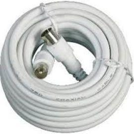 Rallonges câble antenne TV blanc photo du produit