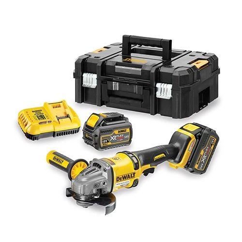Meuleuse sans fil Flexvolt 54 V Dewalt DCG414T2 + 2 batteries 6,0 Ah + chargeur + coffret TSTAK photo du produit