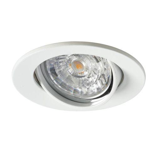 Kit spot LED 230V GU10 6W orientable 3000K IP23 blanc - SYLVANIA - 3001770 pas cher Secondaire 2 L