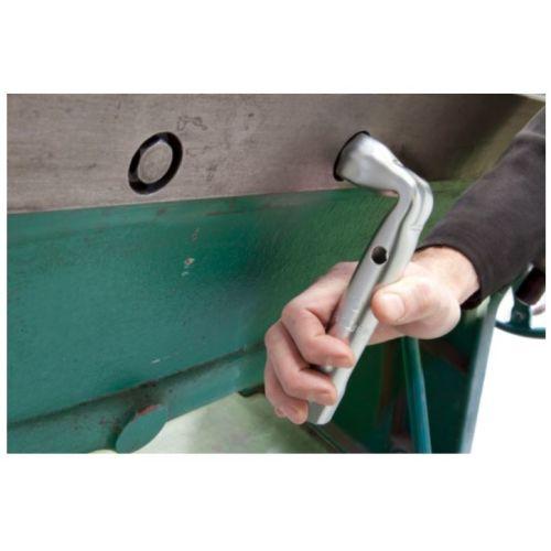 Clé en tube coudée metrique diamètre 7 mm longueur 100 mm - FACOM - 92A.7 pas cher Secondaire 1 L