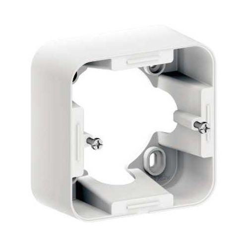 Cadre montage saillie blanc OVALIS - SCHNEIDER - S262762 pas cher Principale L