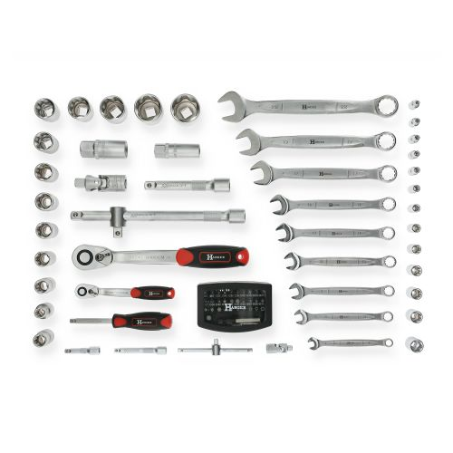 Mallette de 121 outils professionnels - HANGER - 251009 pas cher Secondaire 6 L