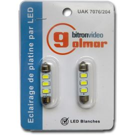 Lampe navette LED (Blister de 2 pièces) photo du produit