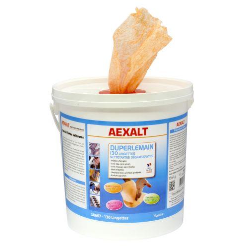 Lingettes nettoyantes dégraissantes Aexalt Duperlemain photo du produit