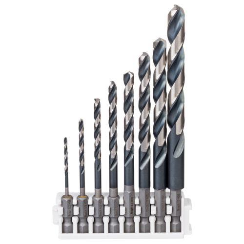 Foret métal diamètre 4,5 x 87 mm longueur utile 47 mm - queue 6 pans 1/4'' - BOSCH - 2608577055 pas cher Secondaire 1 L