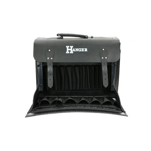 Sac porte-outil noir 41 x 28 x 15 cm - HANGER - 510010 pas cher Secondaire 4 L