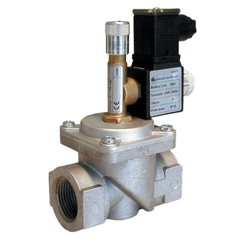 Electrovanne gaz à réarmement manuel Watts 230 V alternatif photo du produit