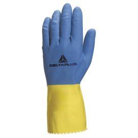 Gants de ménage latex Delta Plus Duocolor VE330 pas cher