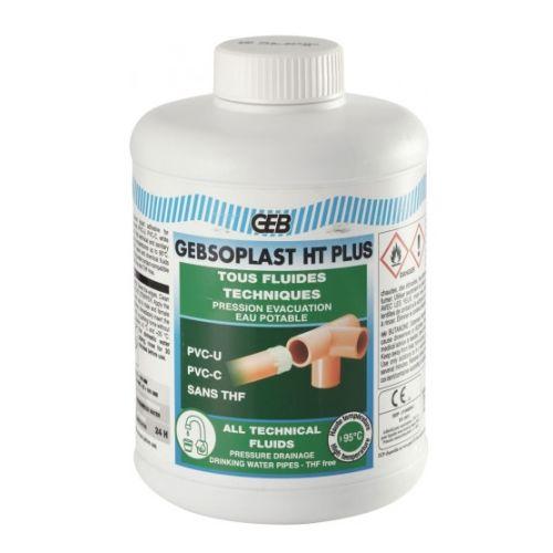 Colle PVC Gebsoplast HT Plus 1 L - GEB - 504858 pas cher Principale L