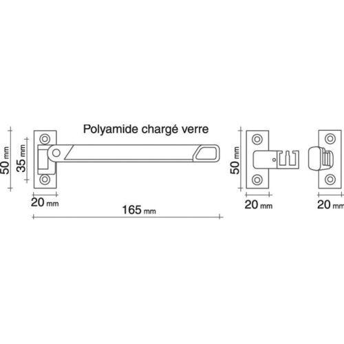 Entrebaîlleur STICKAIR pour fenêtre PVC couleur blanc - SOCONA - G1 pas cher Secondaire 1 L