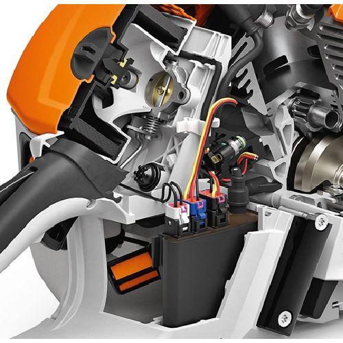 Tronçonneuse thermique à injection MS 500i 63cm - STIHL - 1147-200-0001 pas cher Secondaire 4 L