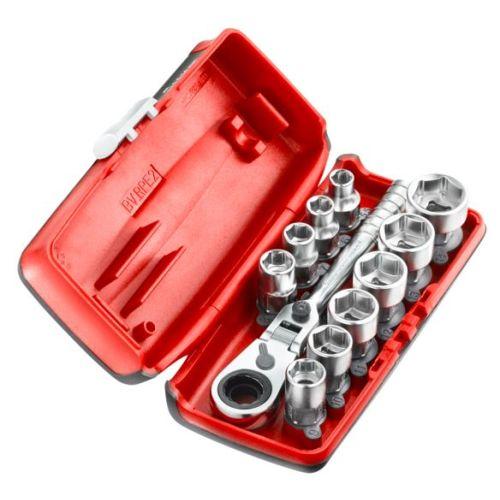 Coffret douilles 1/4'' hexagonales 6 pans métriques - 11 pièces - RXPICOPB - FACOM pas cher Principale L