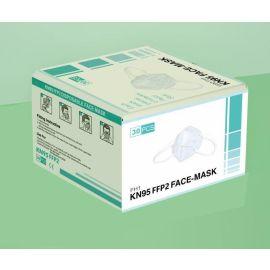 Masques respiratoires jetables FFP2 CE EN149 KN95 photo du produit