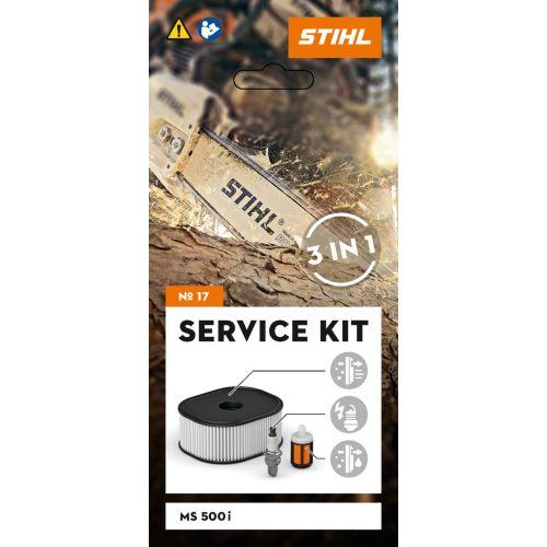 Kit d'entretien tronçonneuse MS 500i Service kit n°17 - STIHL - 1147-007-4101 pas cher Secondaire 1 L