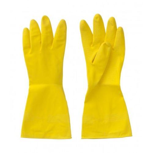 Gants de ménage latex naturel taille 8 - DIFAC - MENAGE_M pas cher Principale L