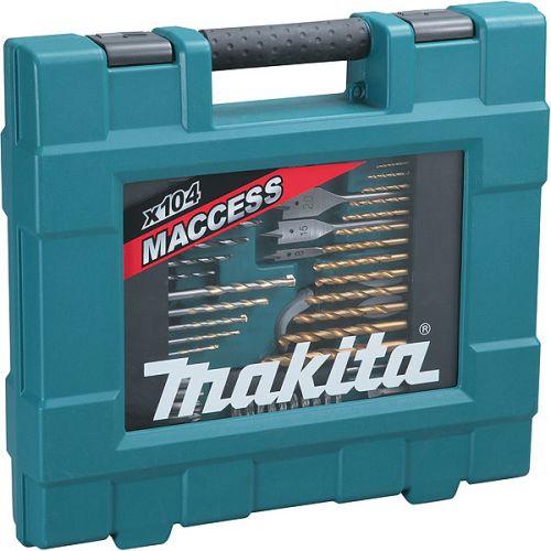 Coffret de perçage Makita 104 accessoires Maccess photo du produit