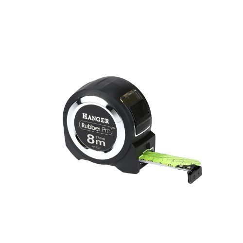 Mètre ruban rubber pro 8 m x 27 mm - HANGER - 100051 pas cher Secondaire 1 L