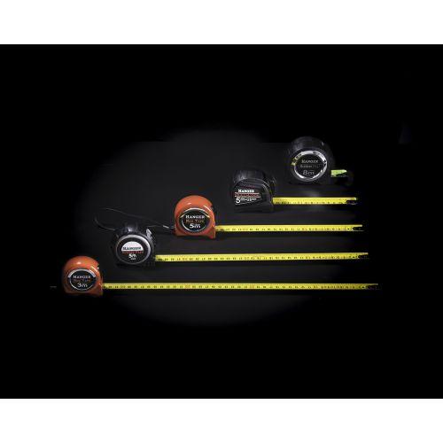 Mètre ruban rubber pro 8 m x 27 mm - HANGER - 100051 pas cher Secondaire 8 L