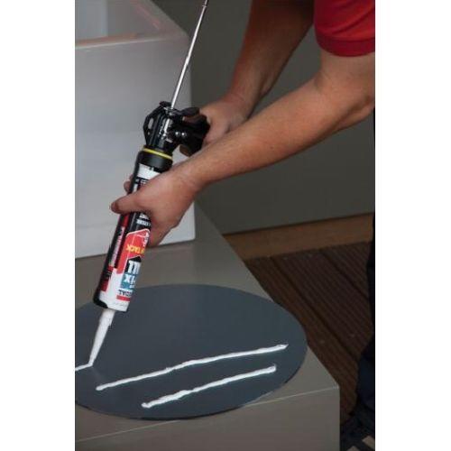Mastic colle Fix All High Tack beigecartouche 290 ml - SOUDAL - 100271 pas cher Secondaire 1 L