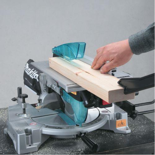 Combi scie sur table / scie à coupe d'onglet 1650W en boite carton - MAKITA - LH1040 pas cher Secondaire 3 L