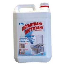 Détartrant nettoyant SFA 5 litres - SFA - DETFR pas cher