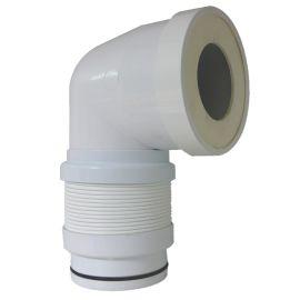 Pipe WC coudée extensible Regiplast ''Magic Pipe'' photo du produit