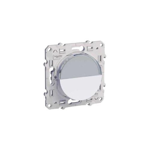 Poussoir porte étiquette ODACE SCHNEIDER S520266 photo du produit Principale L