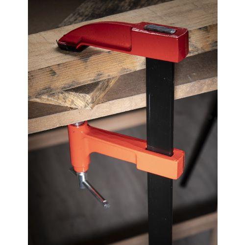 Serre-joints à pompe 800 mm saillie 150 mm - HANGER - 215013 pas cher Secondaire 3 L
